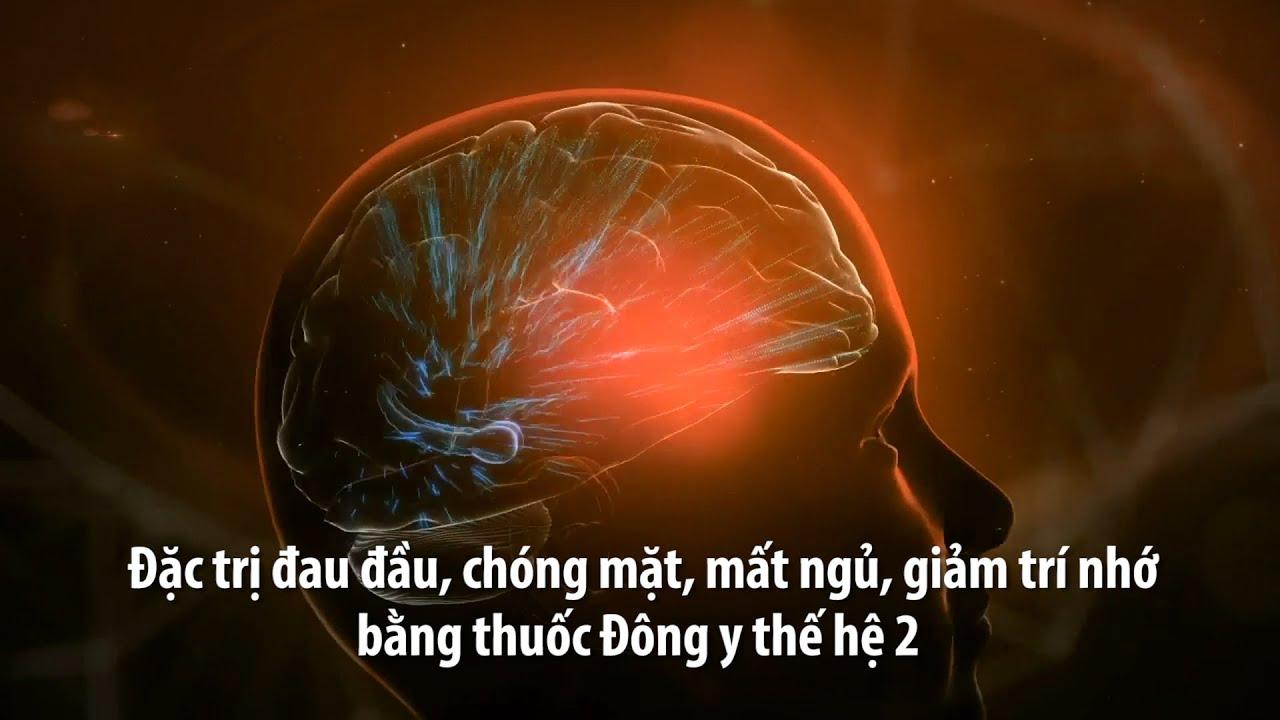 Đặc trị đau đầu, chóng mặt, mất ngủ, giảm trí nhớ bằng thuốc Đông y thế hệ 2