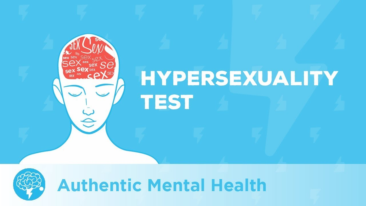 Hypersexual disorder test