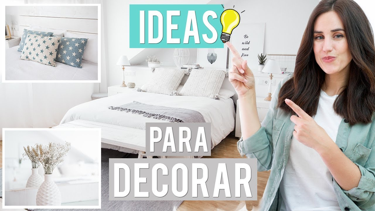 Trucos e ideas para decorar tu habitaci n patry jord n for Como disenar mi dormitorio