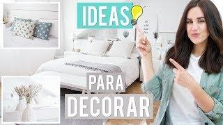 Gambar cover Trucos e ideas para decorar tu habitación | Patry Jordán