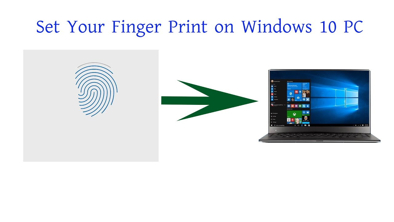How to Set Finger Print in windows 10