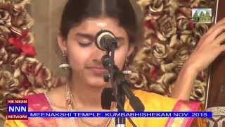 KRUTHI BHAT CARNATIC MUSIC CONCERT AT MTS  2015 PART 1   NNN