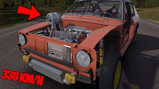 330 KM/H? HOGY MI?!😆 ☀️ My Summer Car Montage #5 [Turbocharger mod]
