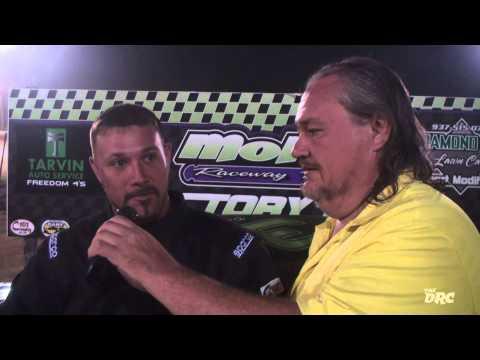 Moler Raceway Park   7.24.15   Tarvin Auto Service Freedom 4s   Feature  Winner   Dustyn Fisher
