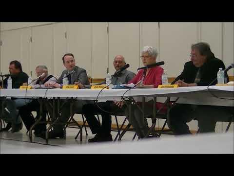 East Windsor Selectman Debate October 19, 2017 at 7PM
