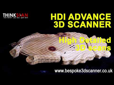 High detailed 3D scans. HDI Advance 3D scanning systems