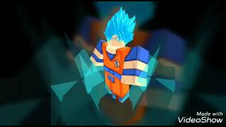 Roblox dragon ball rage destroying pepole (ssjb rage trunks)