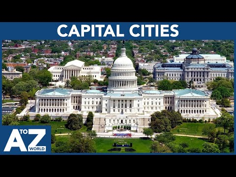 A To Z Of Capitals | ABC Of Capital Cities Starting From A To Z