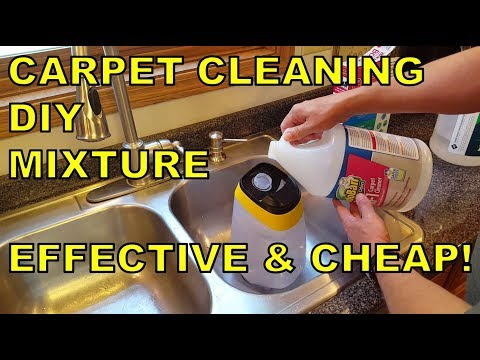 Carpet Cleaner Solution