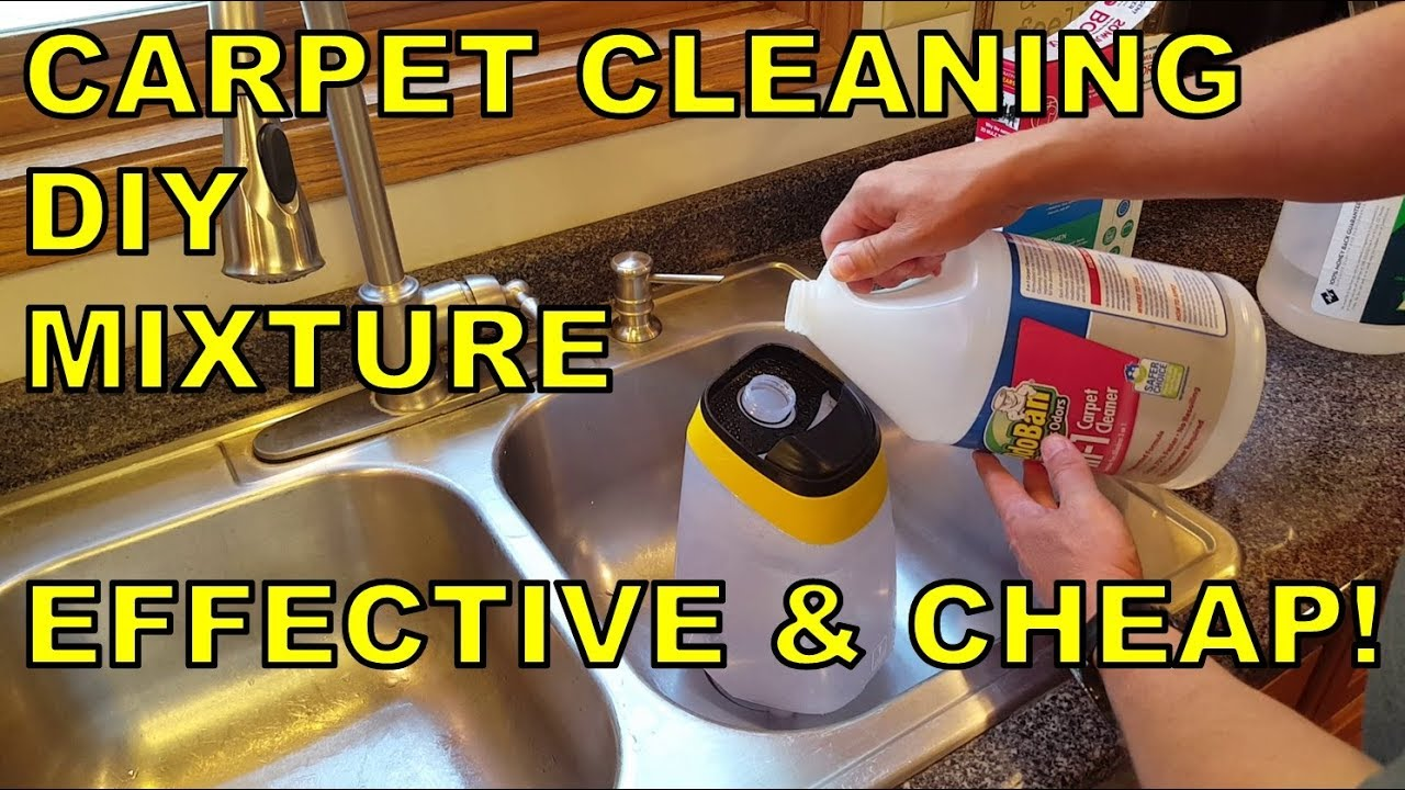 The World S Best Diy Carpet Cleaning Solution Mixture Effective