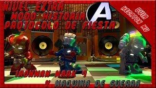 LEGO Marvel Super heroes Protocolo de Fiesta Modo Historia