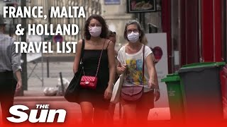 France, Holland & Malta could be added to UK's COVID-19 quarantine list