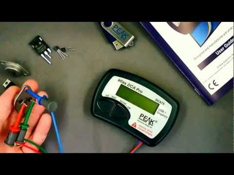 Peak Atlas DCA Pro - Advanced Semiconductor Component Analyser (Model DCA75) - Official Video