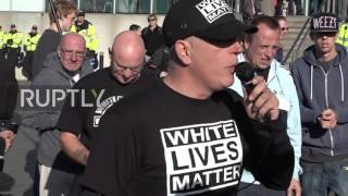 UK: Rowdy White Lives Matter protest met with defiant counter-demo