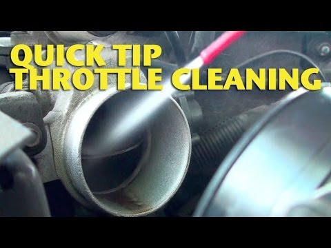 Quick TipThrottle Cleaning  EricTheCarGuy  YouTube