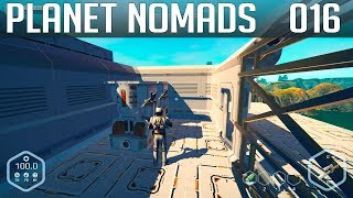 PLANET NOMADS #016 | Basis vergrößern | Gameplay German Deutsch thumbnail