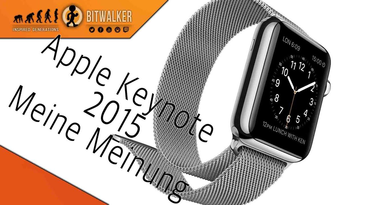 Apple Keynote März 2015 | Review - YouTube