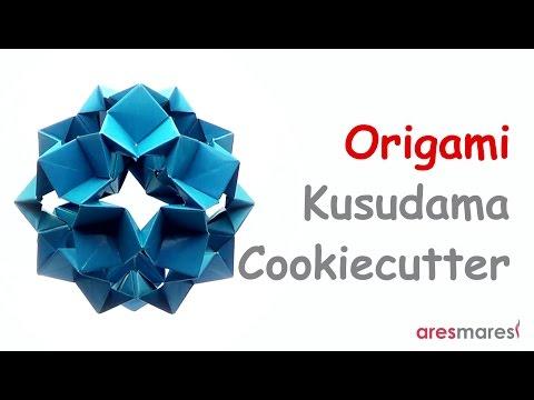 Origami Kusudama Cookiecutter (easy - modular)