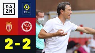Monaco holt 0:2 bei Kovac-Debüt auf: Monaco - Reims 2:2 | Ligue 1 | DAZN Highlights