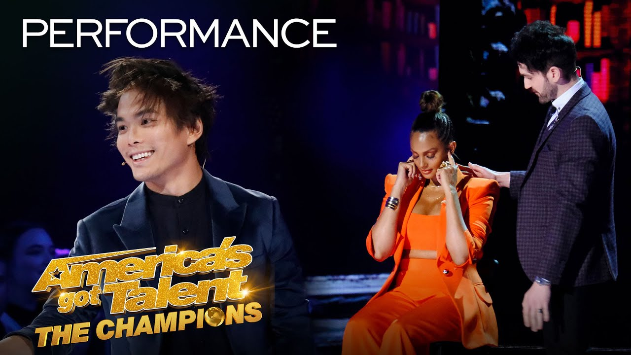 Shin Lim And Colin Cloud Are The AVENGERS of MAGIC! - America's Got Talent: The Champions