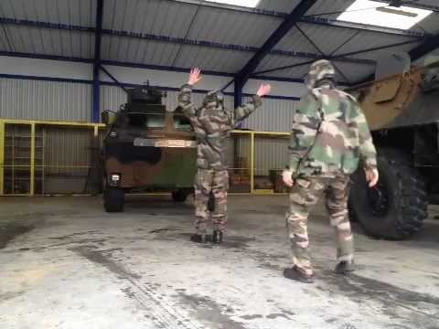 The Harlem Shake (original french army edition)