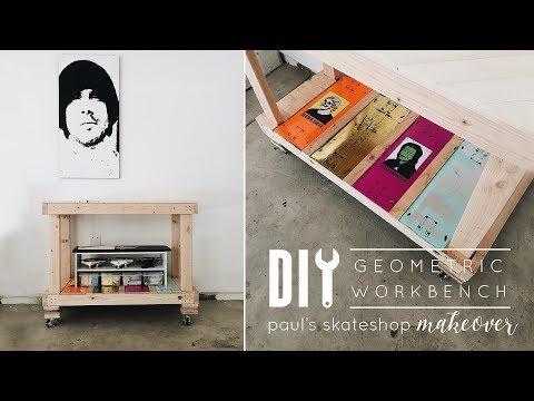 DIY Workbench | Paul's Skate Workshop Makeover Pt. 1