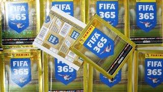 Panini FIFA 365 Stickers 10 Packs Break