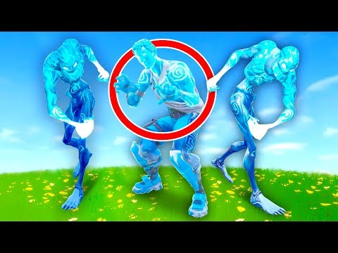Pretending to be Ice Zombies In Fortnite