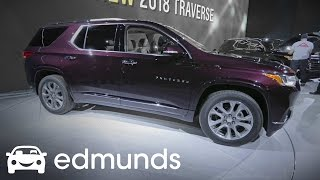 2018 Chevrolet Traverse First Look Review | Edmunds