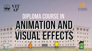 Die Schule der Animation und Visuelle Effekte | VIT-AP und TOONZ - | Werbe-Video