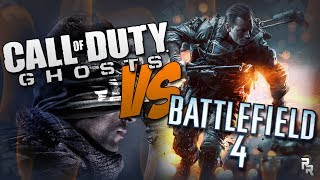 Call of Duty: Ghost VS Battlefield 4 Rap Battle