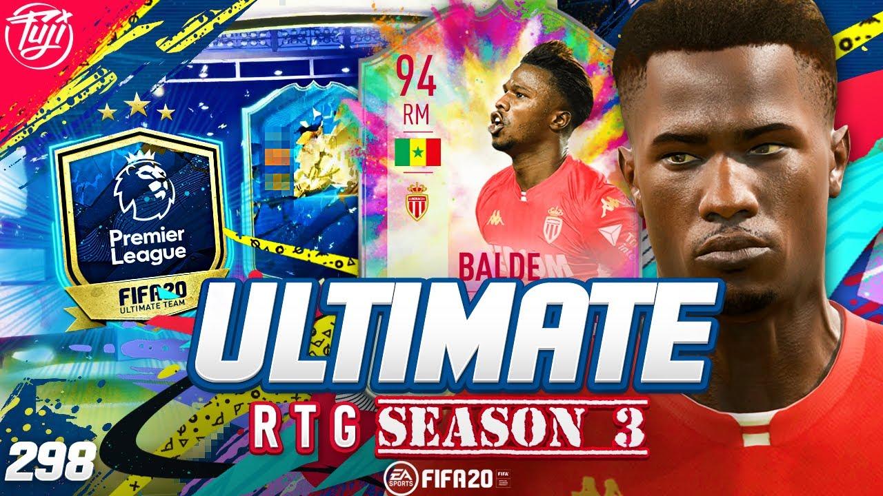 GUARANTEED PREM TOTS PACK!!! ULTIMATE RTG #298 - FIFA 20 Ultimate Team Road to Glory