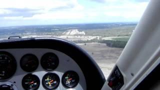 Bush plane landing at Bunbury Airport- West Australia thumbnail