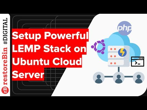 Install and Configure Powerful LEMP Stack on Ubuntu Cloud Server