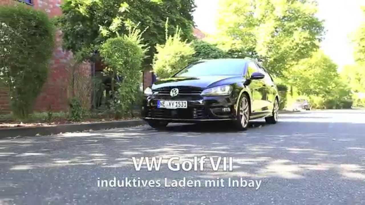 inbay induktives laden im vw golf 7 youtube
