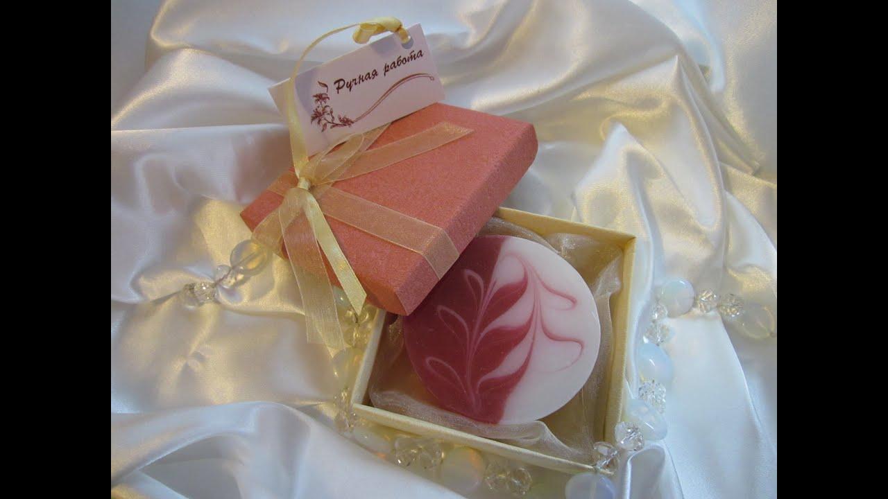Как сделать мыло со свирлами «Nina Ricci». Мыловарение.