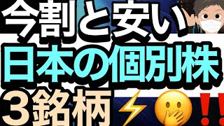 1/16【日経平均株価】が24000円だった頃と株価が変わらない人気バリュー株3銘柄❗📊🤔