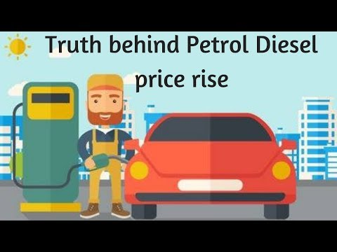 Truth behind petrol price rise. Why petrol prices are so high (In Hindi)