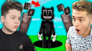 CARTOON CAT si SIREN HEAD in MINECRAFT?! CE FAC?