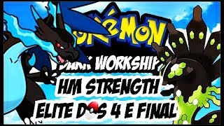 POKEMON DARK WORKSHIP DETONADO EP 6 ELITE DOS 4 HM STRENGTH E FINAL