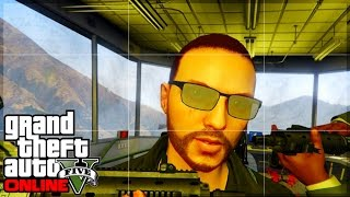 GTA 5 Online Military Base Secret Location! Watch Tower & Other Enterable Buildings!