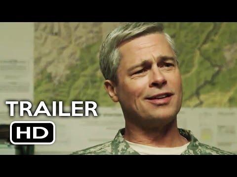 War Machine Teaser Trailer #1 (2017) Brad Pitt Netflix Comedy Movie HD