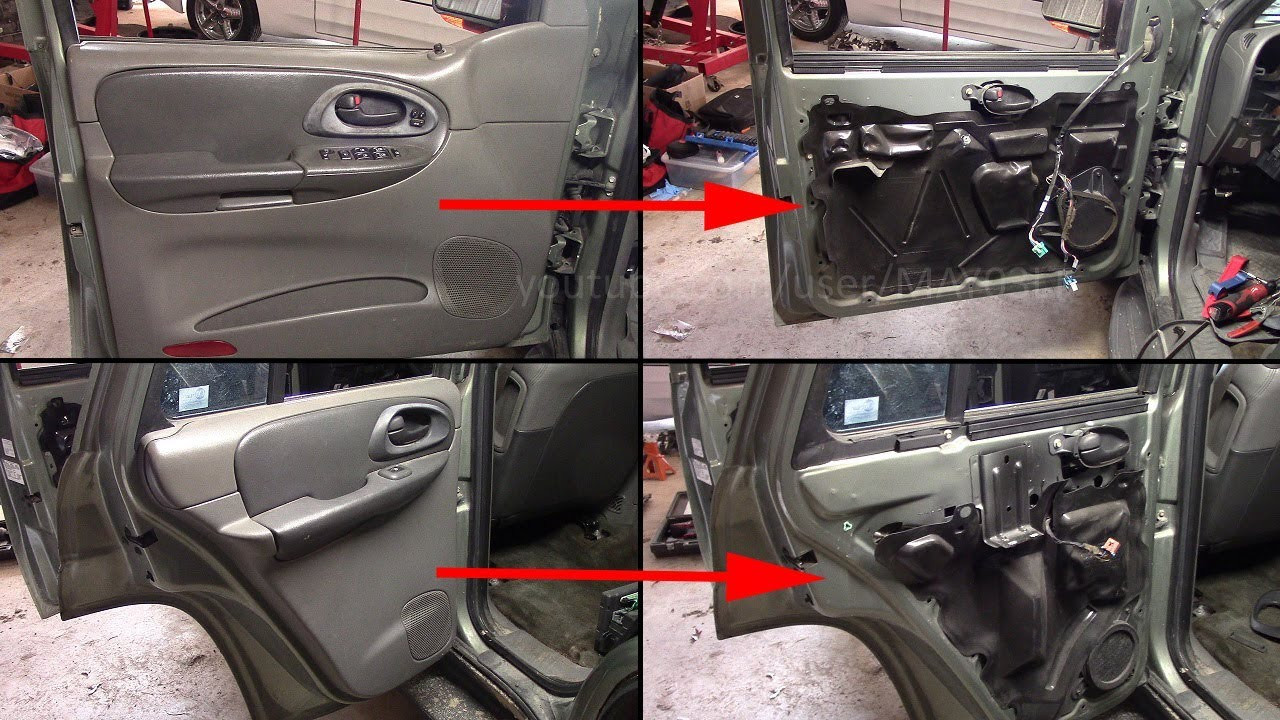 Trailblazer Door Panel Removal Installation Front And Rear Youtube
