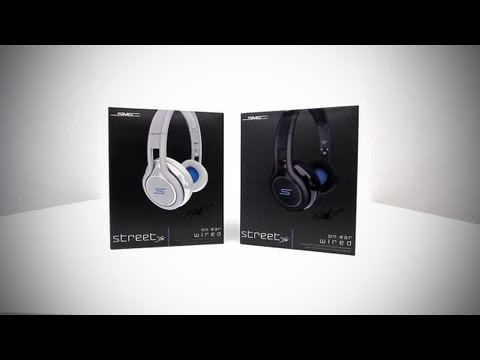SMS Audio STREET by 50 - On-Ear Wired Headphones Unboxing & Overview