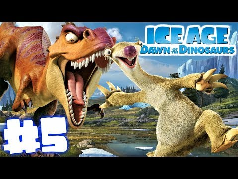 RUN SID RUN!!!-Ice Age Dawn of the Dinosaurs Ep. #5