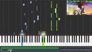 DanMachi Ending - RIGHT LIGHT RISE (Synthesia)
