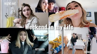 A weekend in my life | shopping, school, puppy