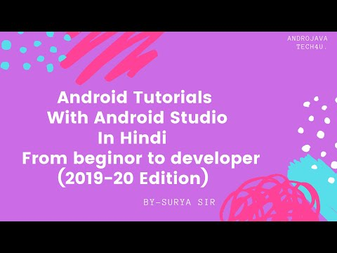Android Studio Tutorial For Beginners - 10 | Activity | Life Cycle Of Activity (2019 Edition)