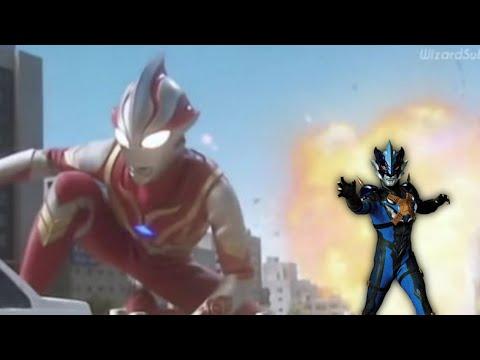 Mebius Itu Masa Lalu Tregear?, Ultraman Mebius Vs Ultraman Tregear | FanMade