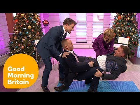 Judge Rinder and Richard Try the Strictly Core Challenge! | Good Morning Britain